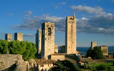 San Gimignano Italy Tuscany