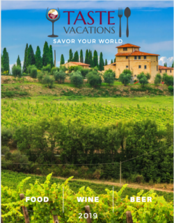Taste Vacations Brochure Cover