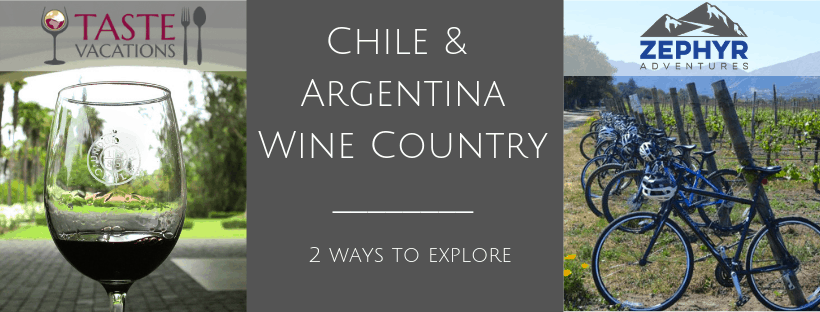 Chile & Argentina Wine Country 2 Ways